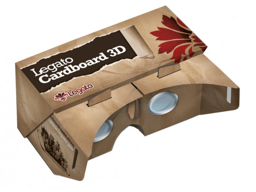 Okulary kartonowe 3D...