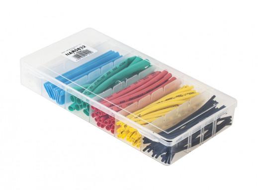 Zestaw rurek termokurczliwych kolorowe 7857 10cm