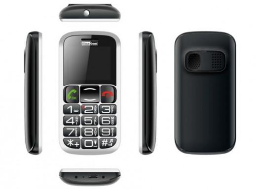 Telefon komórkowy MM461 Maxcom