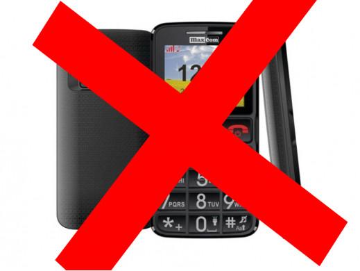 Telefon komórkowy MM432 Maxcom szaro-czarny
