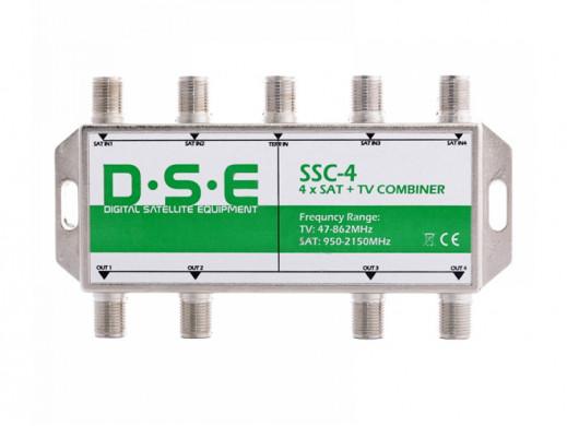 Sumator RTV/SAT x4 SSC-4 4...