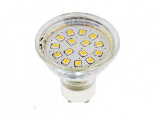 Żarówka GU10 LED 3,7W 230V biały ciepły 320lm LedPol