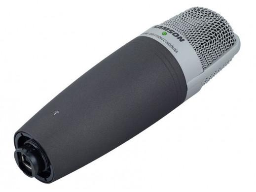 Mikrofon pojemnościowy USB Samson C01U