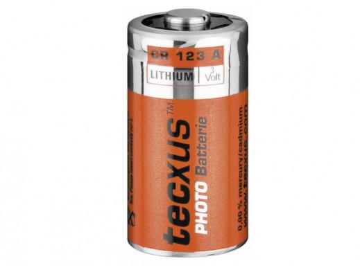 Bateria CR-123 3V Tecxus