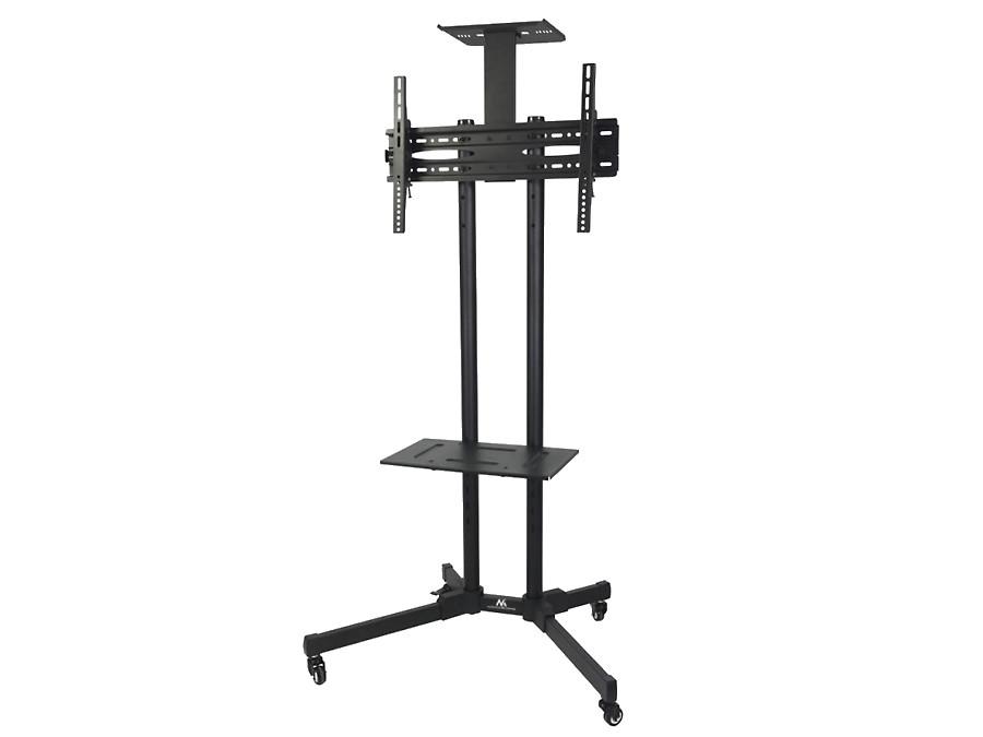 Profesjonalny stand wózek do telewizora na kółkach Maclean MC-661 max 55kg max 600x400