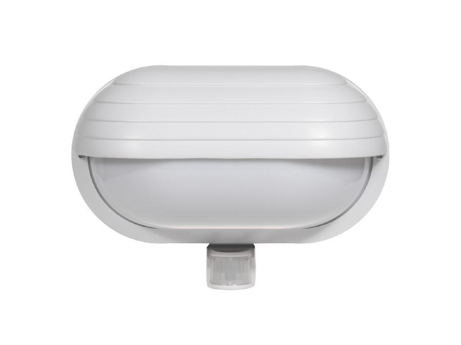 Oprawa ścienna z czujnikiem pir 60W 180° Maclean Energy MCE33 W biały