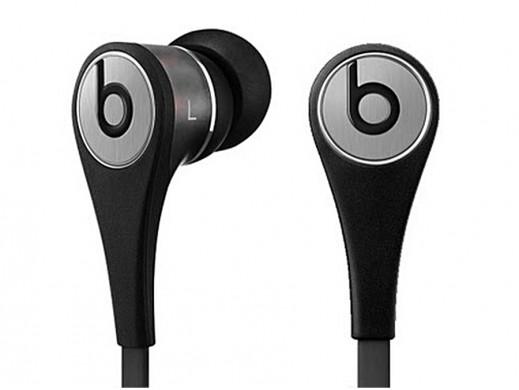 Słuchawki dokonałowe z mikrofonem Tour 2.0 Beats by dr. Dre jack 3.5mm 1.28m Titanium