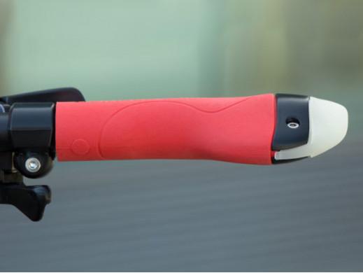 Chwyt rowerowy 3w1 kierunkowskaz lampa czerwony