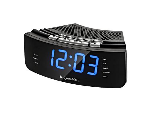 "Radiobudzik LCD 1.2"" KM0813..."