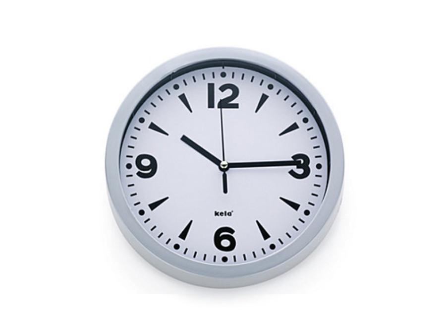 Zegar ścienny Paris 20cm Kela biały