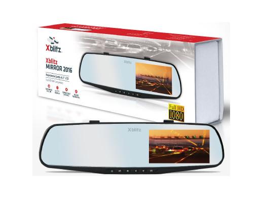 Rejestrator jazdy Xblitz Mirror Full HD