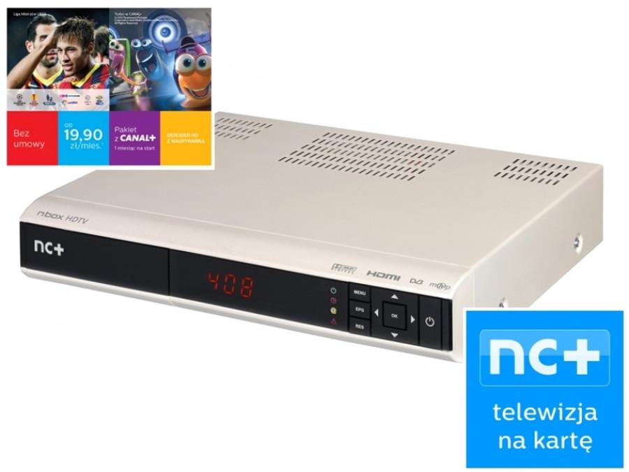 Usługa nc+ telewizja na...