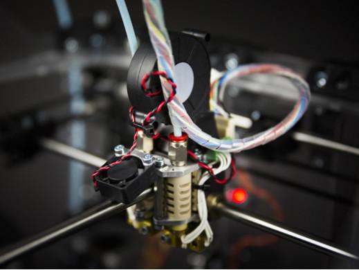 Druga dysza do drukarki 3D...