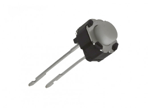 Mikroswitch poziomy okrągły 6x6  H-48mm 2 pin