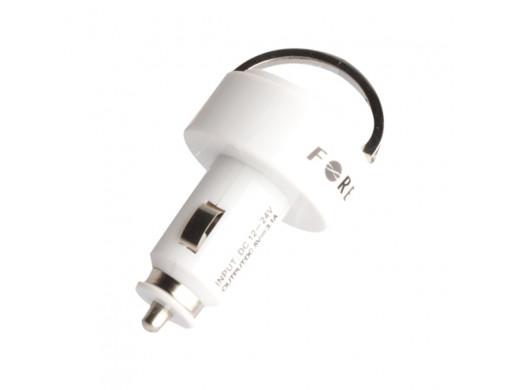 Ładowarka samochodowa 2x USB 1A/2.1A Forever