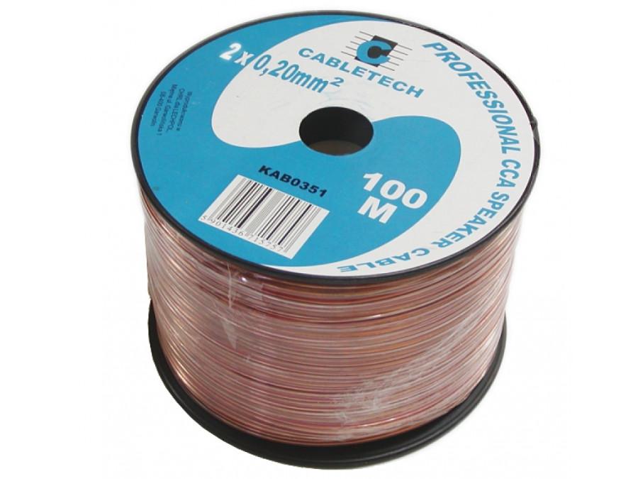 Kabel głośnikowy 2*0,20mm
