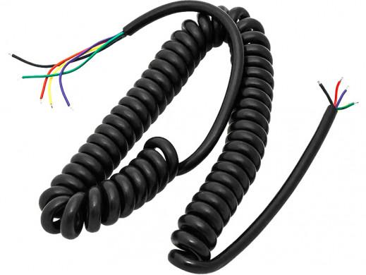 Kabel do mikrofonu CB spirala 5 pin