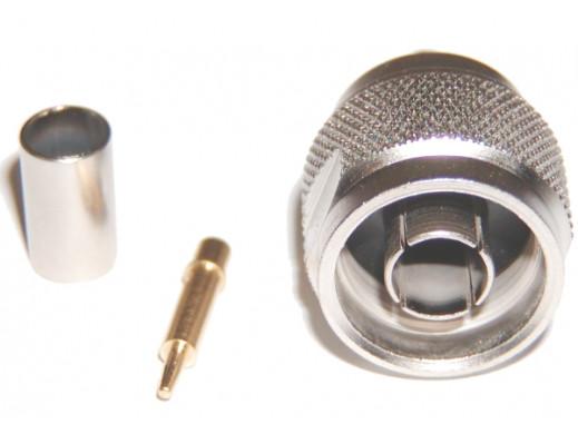 Wtyk typu N zaciskany na H-155