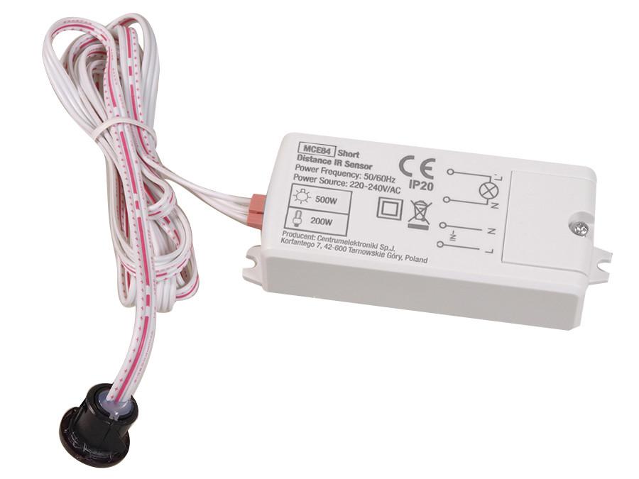 Włącznik bezdotykowy na podczerwień 5A Maclean Energy MCE84  110-240V/AC, 50/60Hz