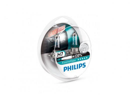 Żarówki sam. Philips H7 X-Treme Vision +130% 2szt