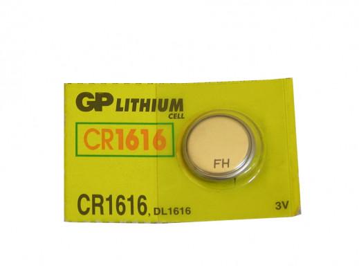 Bateria CR-1616/U5 GP