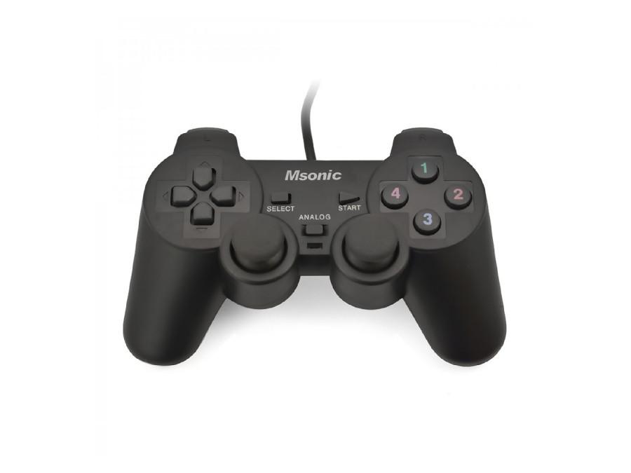 Gamepad Msonic MN3329BK czarny