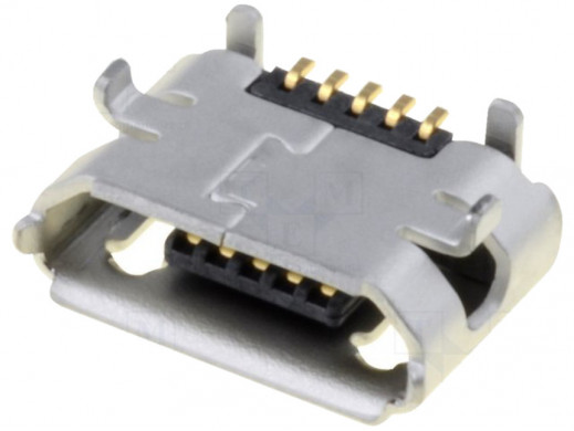 Gniazdo micro USB do druku...