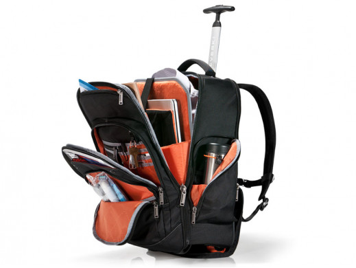 Plecak na laptopa na kółkach Everki Atlas EKP122