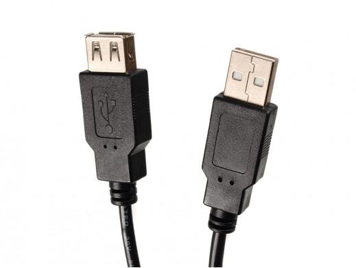 Kabel USB 2.0 gniazdo-wtyk...