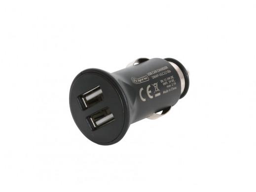 Ładowarka samochodowa USB 2 gniazda 5V 2,1A Mobi.PWR