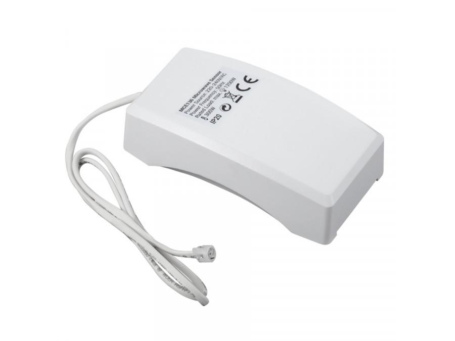 Czujnik ruchu mikrofalowy z zewnętrznym sensorem zmierzchowym Maclean Energy MCE136 1200W zasięg 1m-8m