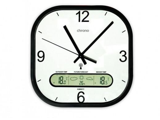 Zegar ścienny Meteo ZP22 z...