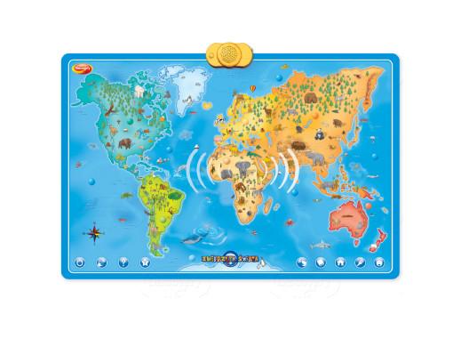 Mapa interaktywna Dumel Zwierzęta Świata PL