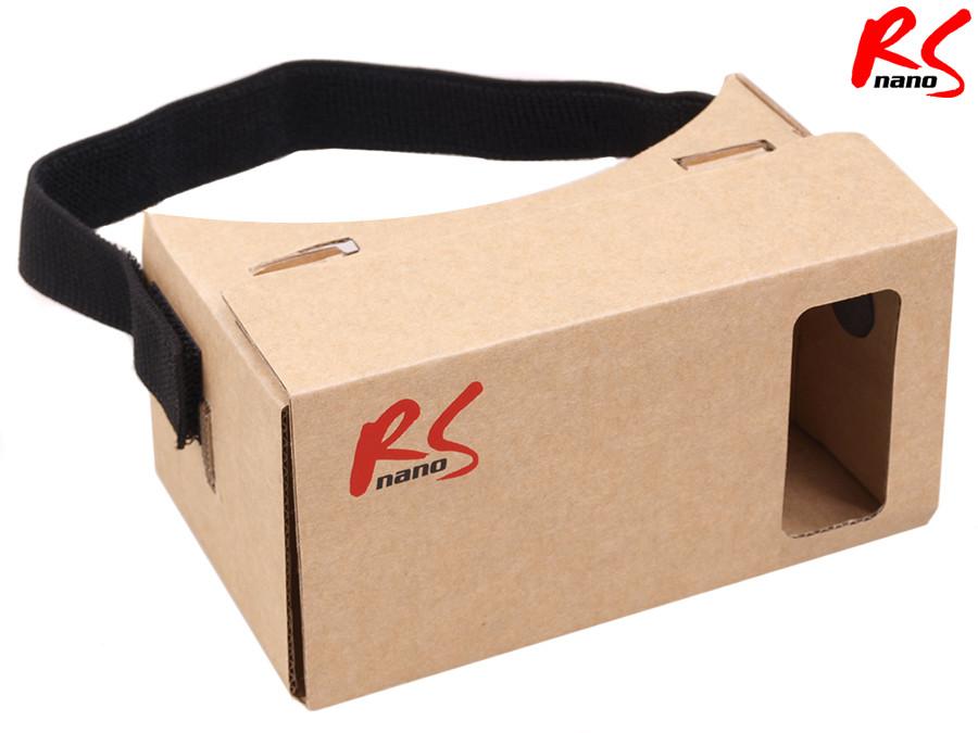 """Okulary cardboard 3D Google Nano RS500 dla smartfonów 4 - 5,5"""""""
