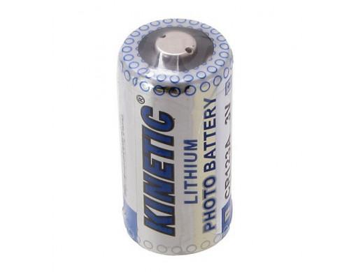 Bateria CR-123 3V Kinetic