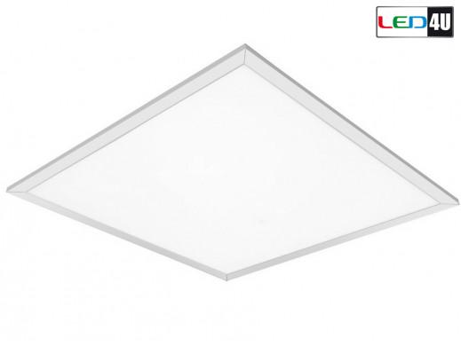 Panel LED sufitowy slim Led4U 40W Warm white 2800-3200K LD101 60x60 raster