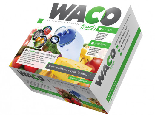Zestaw pakowania próżniowego Waco Fresh Premium+