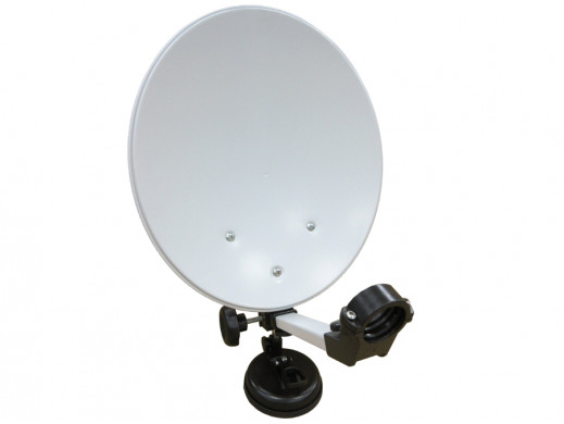 Antena satelitarna 35cm w walizce Opticum Camping
