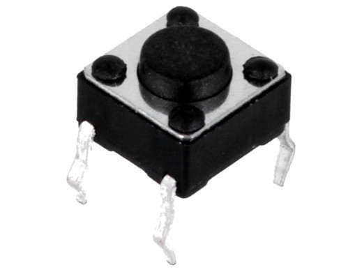 Mikroswitch kwadrat 6x6mm...