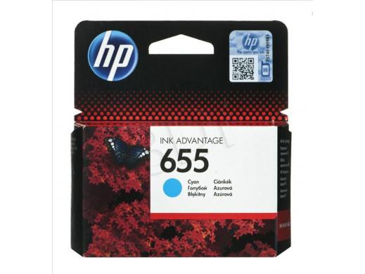 Tusz HP CZ110AE no655 niebieski oryginał
