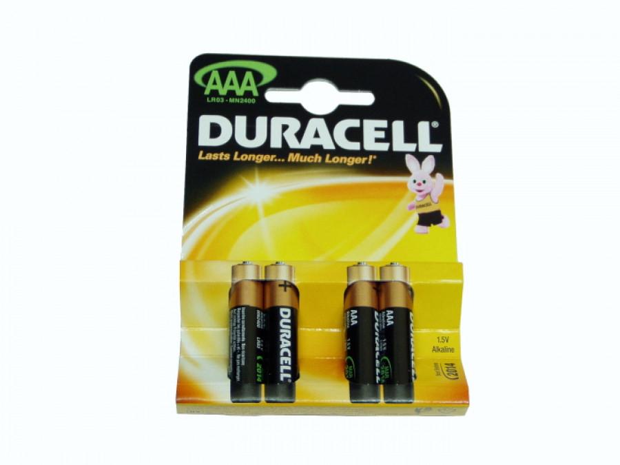 Bateria R-03 AAA MN2400 Duracell