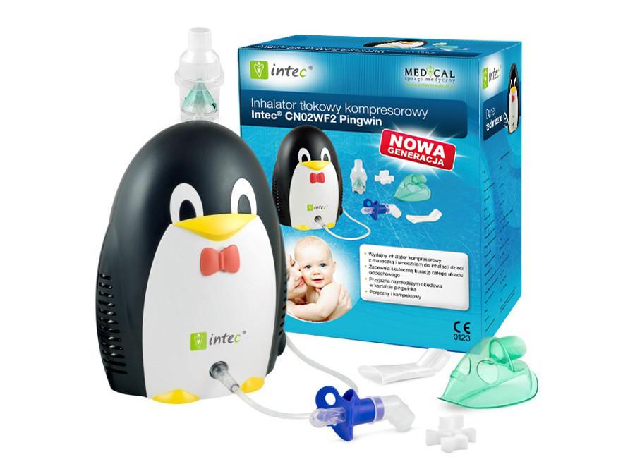 Inhalator Intec Pingwin
