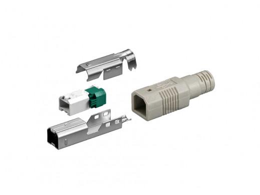 Wtyk USB typ B na kabel z...