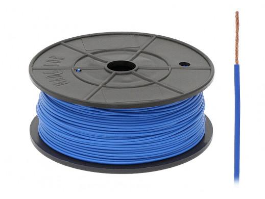 Kabel pojedyńczy 0,5mm FLRY niebieski