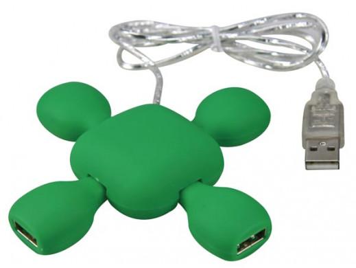 HUB USB 2.0 / 4 PORTY PCUSB25