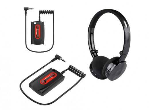 Słuchawki bezprzewodowe Deteknix W3