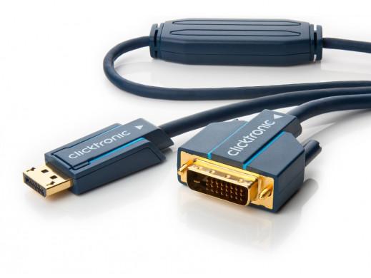 Kabel DisplayPort-DVI-D...