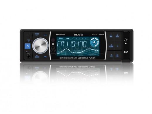 Radio samochodowe MP3/BT z pilotem Blow AVH-8686
