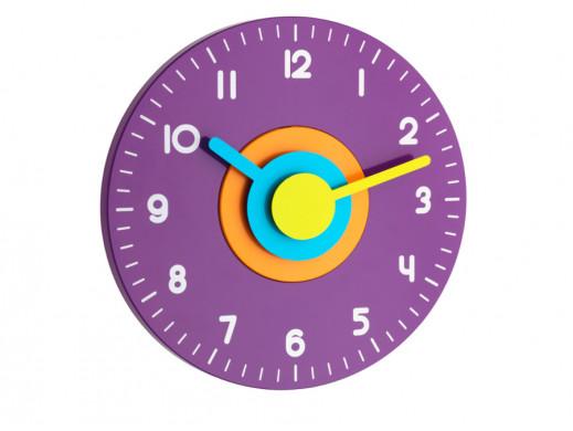 Zegar ścienny TFA Polo kolor