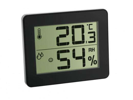 Cyfrowy termohigrometr TFA 30.5027 czarny
